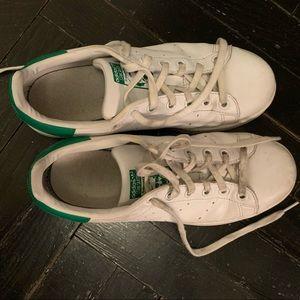 Adidas Stan Smith women's size 6 sneakers.